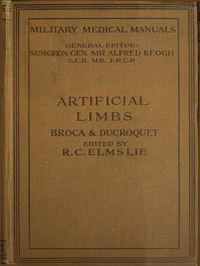 Cover of Artificial Limbs
