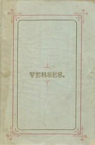 Cover of Verses