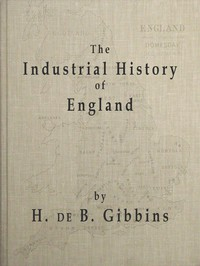 Cover of The Industrial History of England