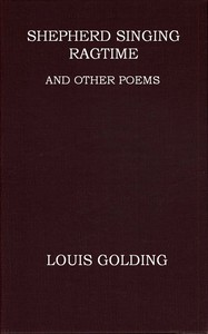 Cover of Shepherd Singing Ragtime, and Other Poems