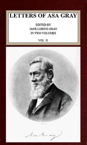 Letters of Asa Gray; Vol. 2