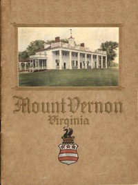 Cover of An Illustrated Handbook of Mount Vernon, the Home of Washington