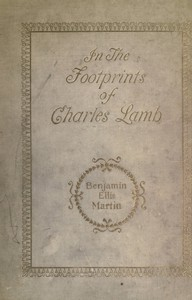 Cover of In the Footprints of Charles Lamb