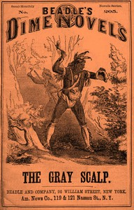 Cover of The Gray Scalp; Or, The Blackfoot Brave
