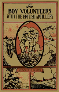 Cover of The Boy Volunteers with the British Artillery