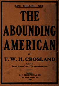Cover of The Abounding American