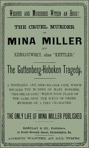 Cover of The Cruel Murder of Mina Miller
