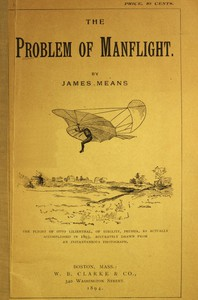 Cover of The Problem of Manflight