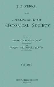 Cover of The Journal of the American-Irish Historical Society (Vol. I)