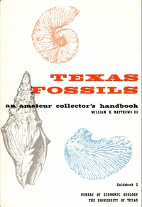 Cover of Texas Fossils: An Amateur Collector's Handbook