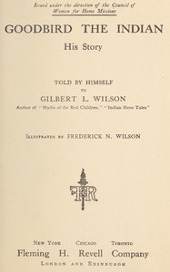 Cover of Goodbird the Indian: His Story
