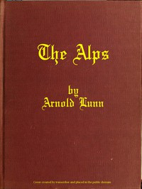 Cover of The Alps