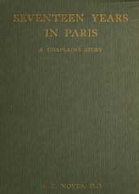 Cover of Seventeen Years in Paris: A Chaplain's Story