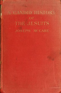 Cover of A Candid History of the Jesuits
