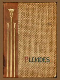 Cover of Pleiades Club Year Book 1910