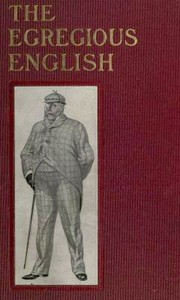 Cover of The Egregious English