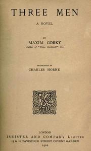 Cover of Three Men: A Novel
