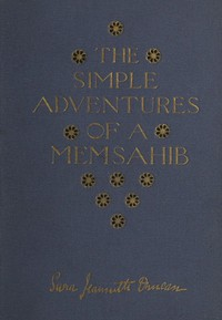 Cover of The Simple Adventures of a Memsahib