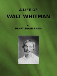 Cover of A Life of Walt Whitman