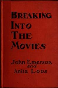 Cover of Breaking into the movies
