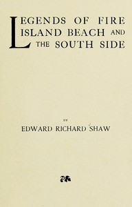 Cover of Legends of Fire Island Beach and the South Side