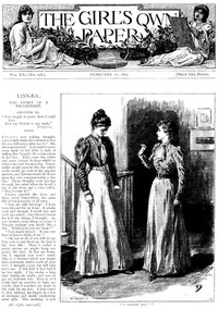Cover of The Girl's Own Paper, Vol. XX, No. 998, February 11, 1899