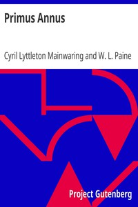 Cover of Primus Annus
