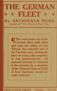 """Cover of The German Fleet Being The Companion Volume to """"The Fleets At War"""" and """"From Heligoland To Keeling Island"""