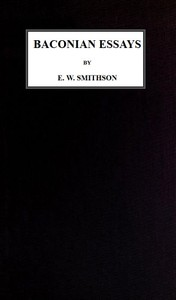 Cover of Baconian Essays