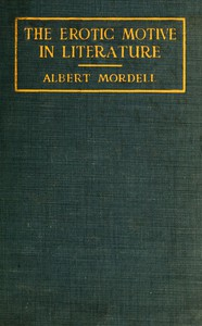 Cover of The Erotic Motive in Literature