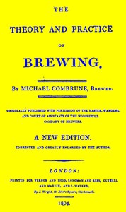 Cover of The Theory and Practice of Brewing