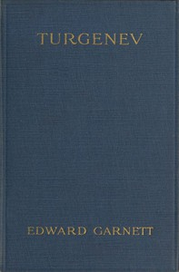 Cover of Turgenev: A Study