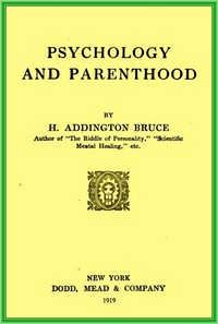 Cover of Psychology and parenthood