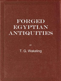 Cover of Forged Egyptian Antiquities