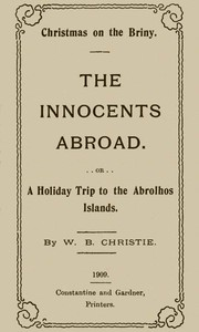 Cover of Christmas on the Briny, The Innocents AbroadOr, A Holiday Trip to the Abrolhos Islands