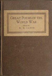 Great Poems of the World War