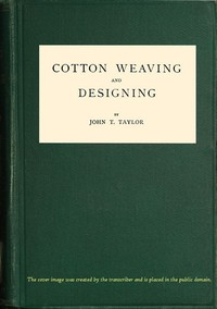 Cover of Cotton Weaving and Designing6th Edition