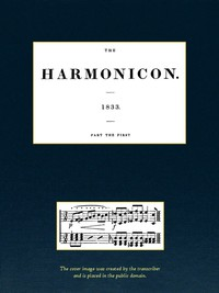 Cover of The Harmonicon. Part the First