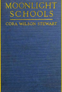 Cover of Moonlight Schools for the Emancipation of Adult Illiterates