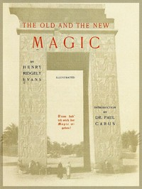 Cover of The Old and the New Magic