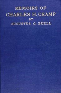 Cover of The Memoirs of Charles H. Cramp