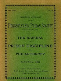 Cover of The Journal of Prison Discipline and Philanthropy (New Series, No. 46, January 1907)