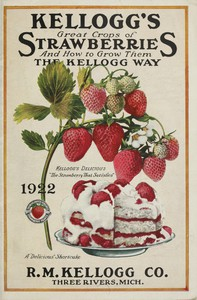 Cover of Kellogg's Great Crops of Strawberries, and How to Grow Them the Kellogg Way