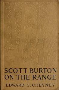 Cover of Scott Burton on the Range
