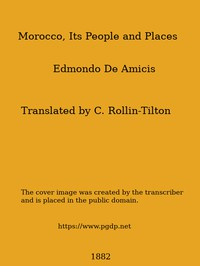 Cover of Morocco, Its People and Places