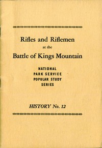 Cover of Rifles and Riflemen at the Battle of Kings Mountain