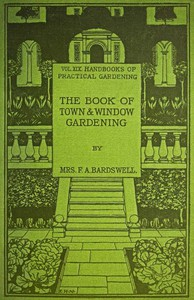 Cover of The Book of Town & Window Gardening