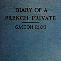 Cover of The Diary of a French Private: War-Imprisonment, 1914-1915