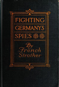 Cover of Fighting Germany's Spies