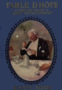 Cover of Table d'Hôte